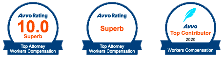 Avvo Rating 1.0 - Top Attorney Workers Compensation