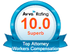 av logo top attorney workers compensation rating 10.0